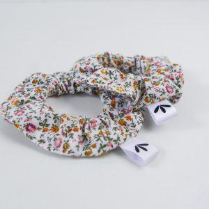 Vintage Scrunchie Senf Rosa