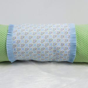 Nackenrolle Hellblau Grün