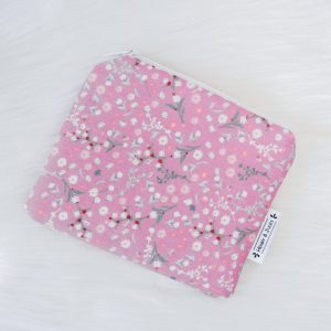 Mini Pouch Pink Winterflower